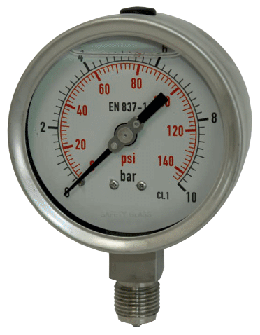 Chemiemanometer / Industriemanometer